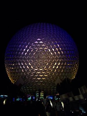 Photograph - Spaceship Earth by Georgia Hamlin