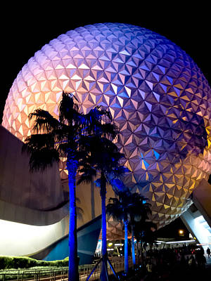Spaceship Earth Art Print by Greg Fortier