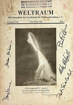 'spaceship One Launched' Poster Print by Detlev Van Ravenswaay