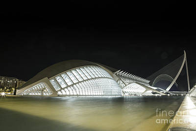 Photograph - Spaceship Or Building by Fabian Roessler