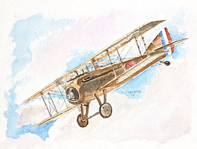 Spad Over France Original