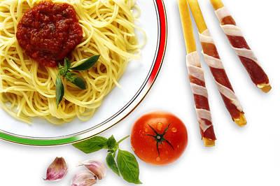 Photograph - Spaghetti Bolognese by Selke Boris