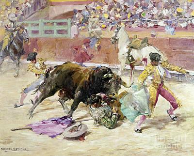 Spain - Bullfight C1900 Art Print by Granger