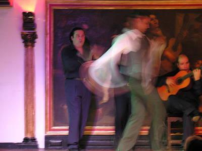 Photograph - Spain - Madrid - Corral De La Moreria Flamenco by Jacqueline M Lewis