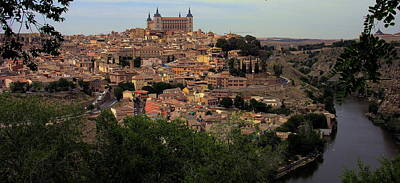 Photograph - Spain - Toledo And River Tagus by Jacqueline M Lewis