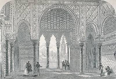 Al Andalus Photograph - Spain 19th C.. Seville. Pedro by Everett