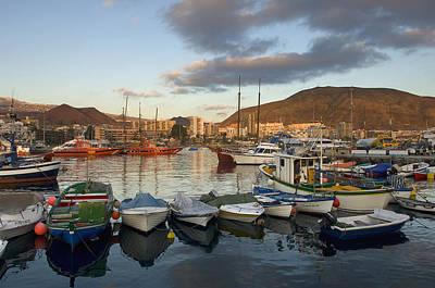 Spain, Canary Islands, Tenerife, Los Art Print by Chris Parker