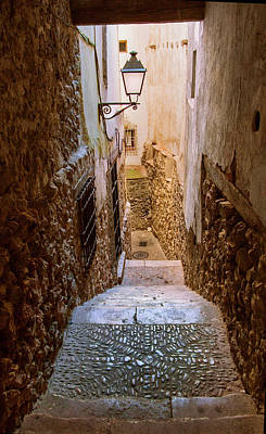 Cuenca Photograph - Spain, Cuenca Alley by John Ford