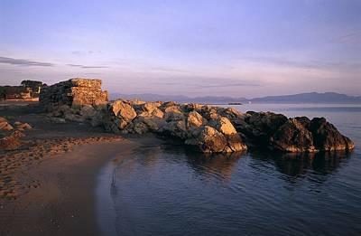 Girona Photograph - Spain. Lescala. Emp�ries. Roses Gulf by Everett