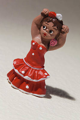 Miniature Photograph - Spain, Madrid, Souvenir Miniature by Walter Bibikow