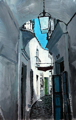 Old Street Painting - Spain Series 02 by Yuriy Shevchuk
