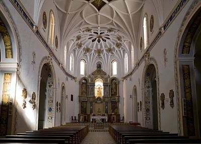 Spain. Teruel. Estercuel. Monasterio De Art Print by Everett