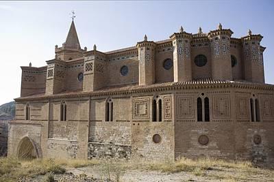 Teruel Photograph - Spain. Teruel. Montalb�n. Church by Everett