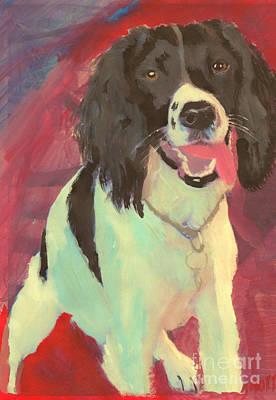 Hbk Painting - Spaniel  by John Morris
