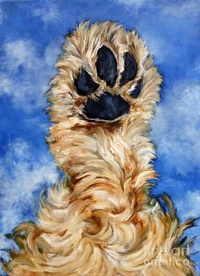 Cocker Spaniel Painting - Spaniel Paw by Betsy Doody