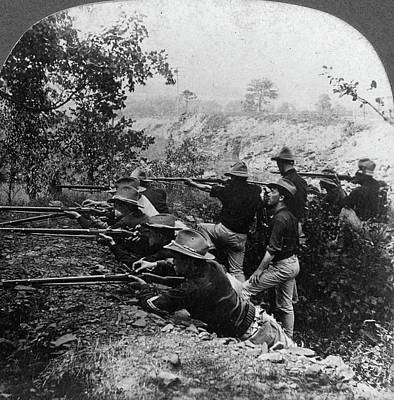 Spanish American War Painting - Spanish-american War, C1899 by Granger