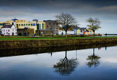 Reflection Photograph - Spanish Arch, Galway by Photograph By Jonah Murphy