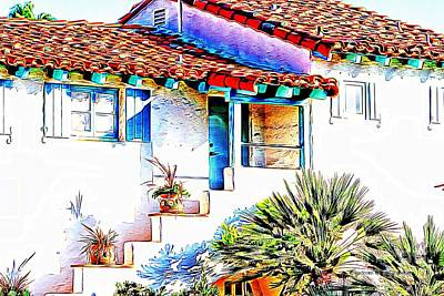 Photograph - Spanish Bungalow by Audreen Gieger