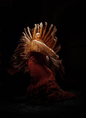 Photograph - Spanish Dancer by Scott Burdick