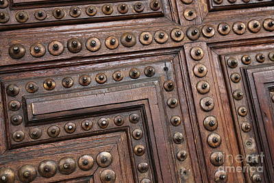 Photograph - Spanish Door by Carol Groenen