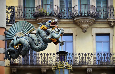 Photograph - Spanish Dragon by Jack Daulton
