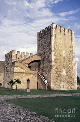 Photograph - Spanish Fort Santo Domingo by John  Mitchell