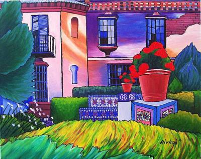 Painting - Spanish Garden by Rivkah Singh