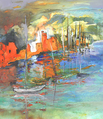 Painting - Spanish Harbour 02 by Miki De Goodaboom