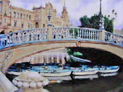 Digital Art - Spanish Impressions by Ian  MacDonald