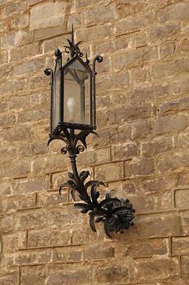 Photograph - Spanish Lamp by Kathy Schumann