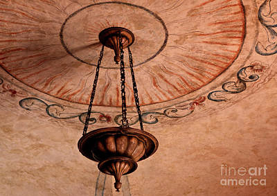Spanish Lamp Art Print by Lawrence Burry