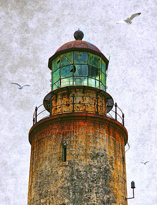 Spanish Lighthouse Art Print by Daniel Hagerman