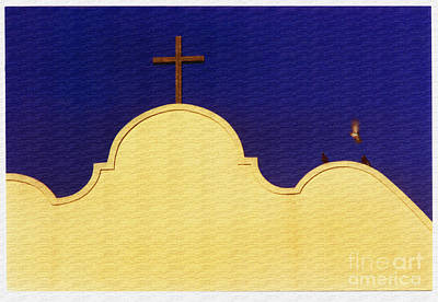 Spanish Mission Art Print