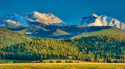 Photograph - Spanish Peaks Evening by Joan Herwig