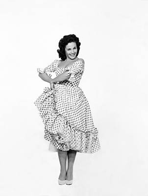 Carmen Photograph - Spanish Star Carmen Sevilla. by Underwood Archives