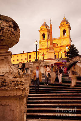 Photograph - Spanish Steps by Brian Jannsen