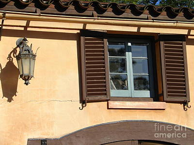 Photograph - Spanish Style Window by Lew Davis