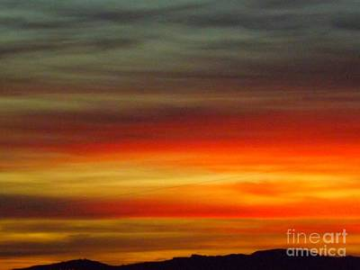 Romantic Photograph - Spanish Sunset by Clare Bevan