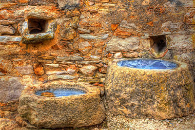 Wellspring Photograph - Spanish Water Wells by Martin Joyful