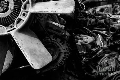 Photograph - Spare Parts I by Dean Harte