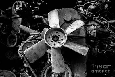 Photograph - Spare Parts II by Dean Harte