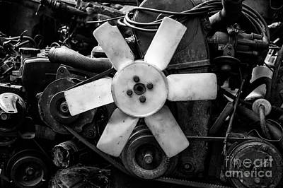 Photograph - Spare Parts IIi by Dean Harte