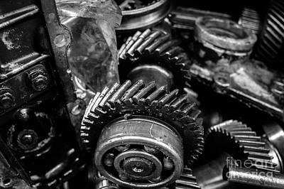 Photograph - Spare Parts Iv by Dean Harte