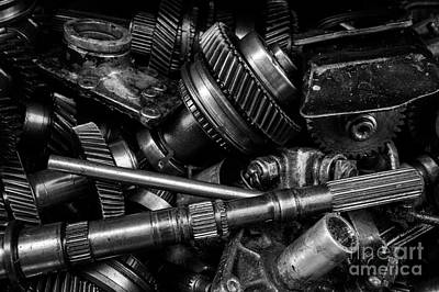 Photograph - Spare Parts V by Dean Harte
