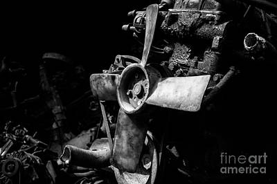 Photograph - Spare Parts Vi by Dean Harte