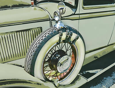 Spare Tire Digital Art - Spare Tire by Victor Montgomery