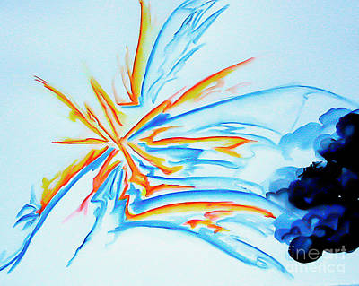 Painting - Spark by Heather  Hiland