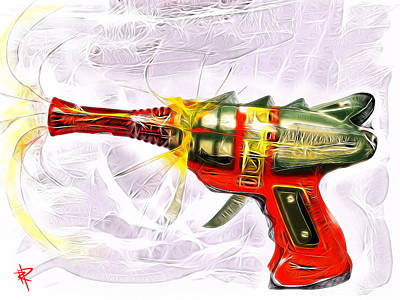 Science Fiction Mixed Media - Spark Maker by Russell Pierce