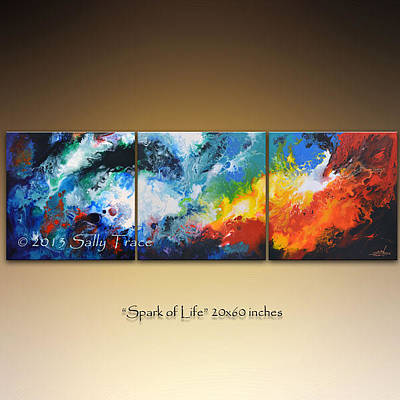 Painting - Spark Of Life by Sally Trace