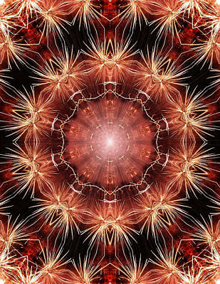Mandala Photograph - Sparking Dreams by Kristin Elmquist